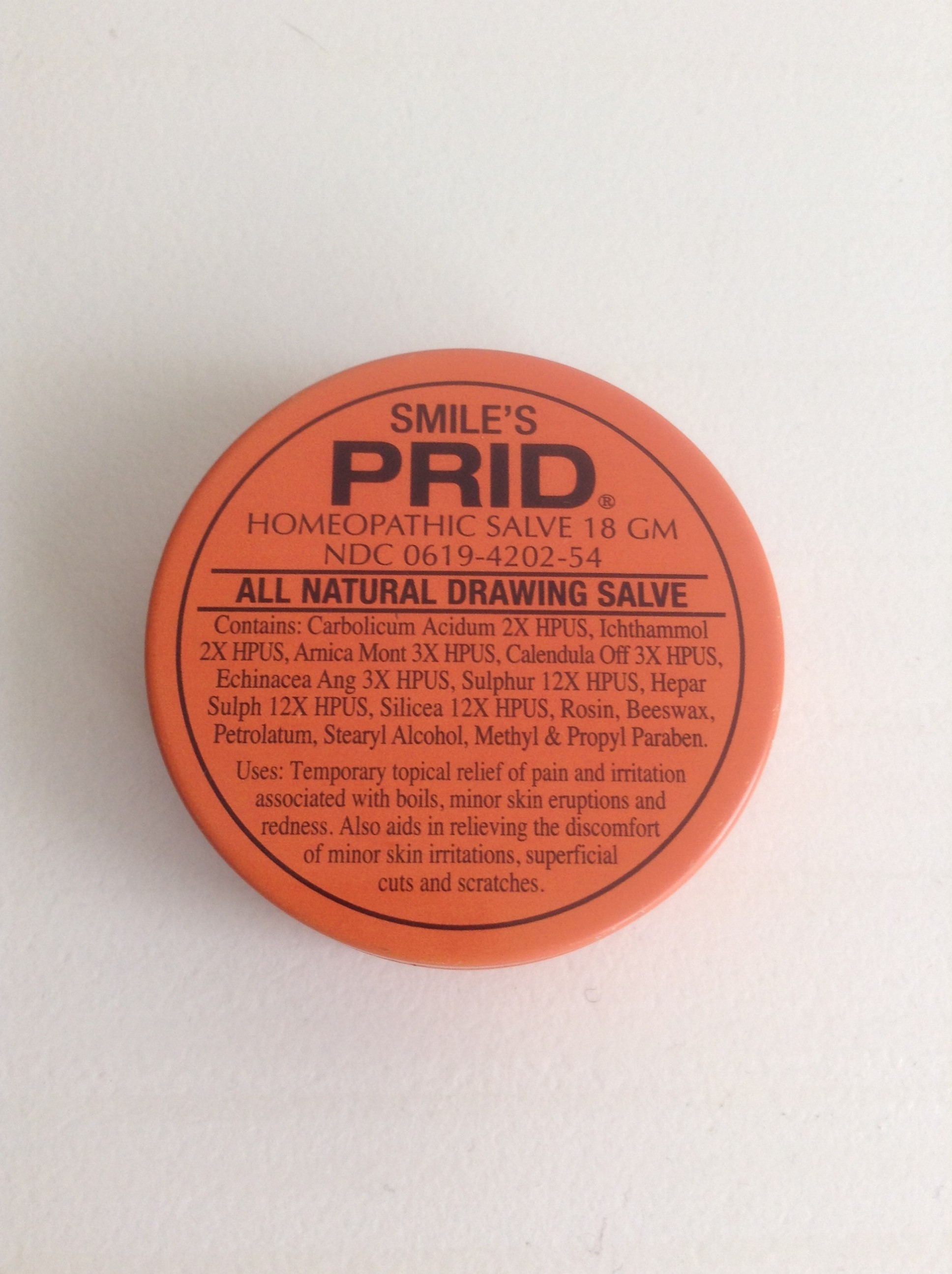 Prids Drawing Salve For Blind Pimples