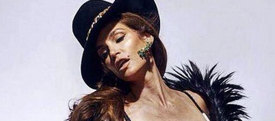 Cindy Crawford untouched photos