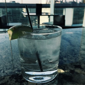 Vodka-Soda-Lime at the Thompson Hotel Rooftop (Toronto, ON)