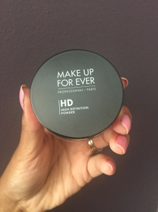 Make Up Forever's HD Microfinish Powder