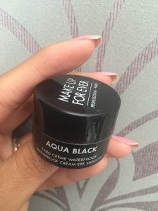 Make Up Forever's Aqua Black Gel Eyeliner